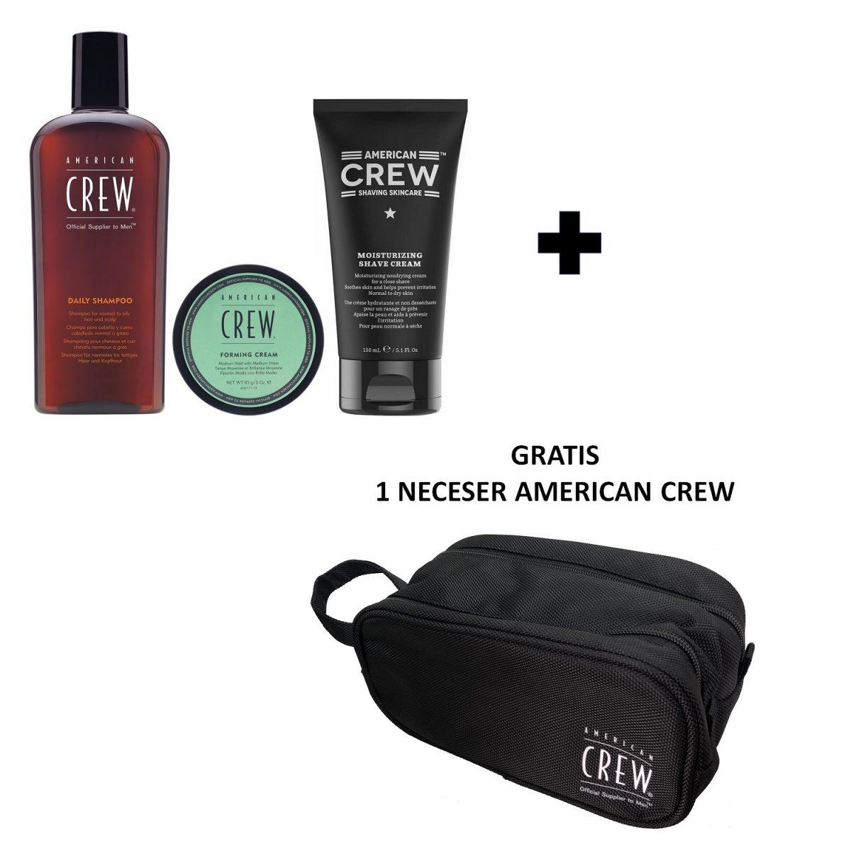 55_American-Crew-Daily-Shampoo-250ml_Forming_Cream_85gr_Moisturizing_Shave_Cream_150ml_Neceser