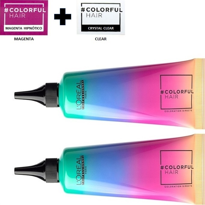 07_Emphase_Loreal_Profesional_Colorful_Hair_Tinte_Temporal_de_Fantasia_Magenta_90ml_Clear_90ml