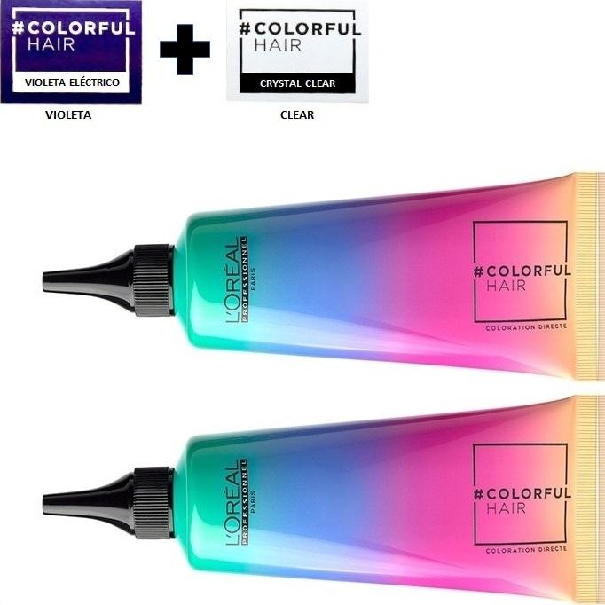 08_Emphase_Loreal_Profesional_Colorful_Hair_Tinte_Temporal_de_Fantasia_Violeta_90ml_Clear_90ml